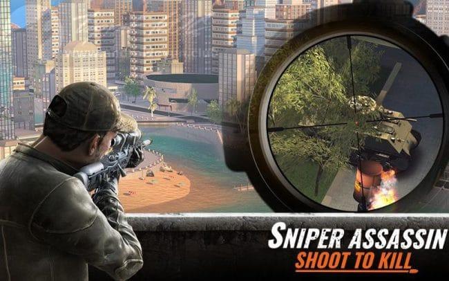 sniper 3d v2 16 20 mod apk para elmas premium hileli - Sniper 3D Assassin