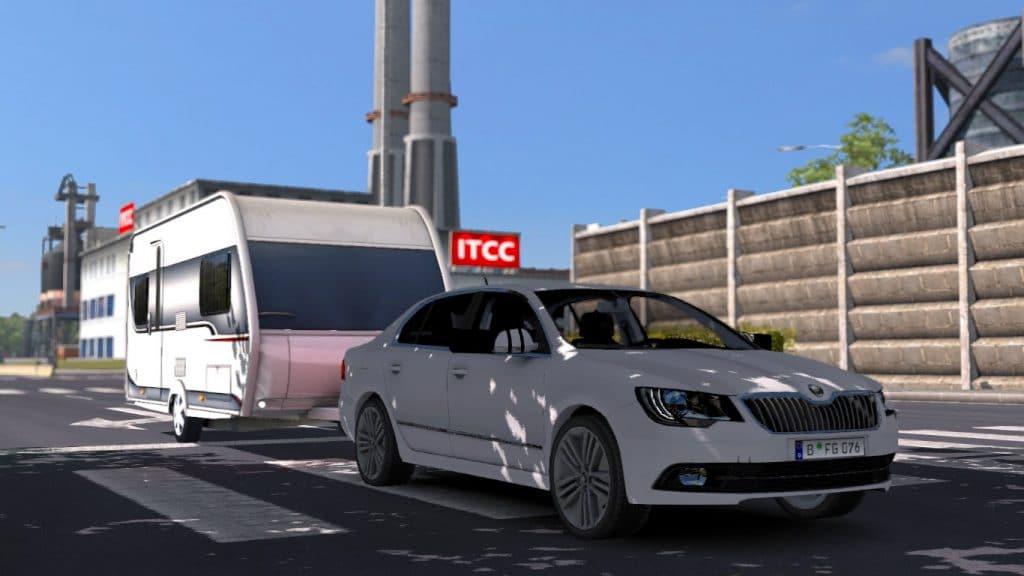 Euro truck simulator 2 araba yaması