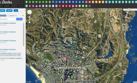 GTA 5 Haritası