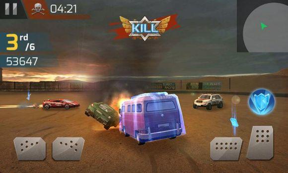 Çarpışan Araba Yarışı 3D
