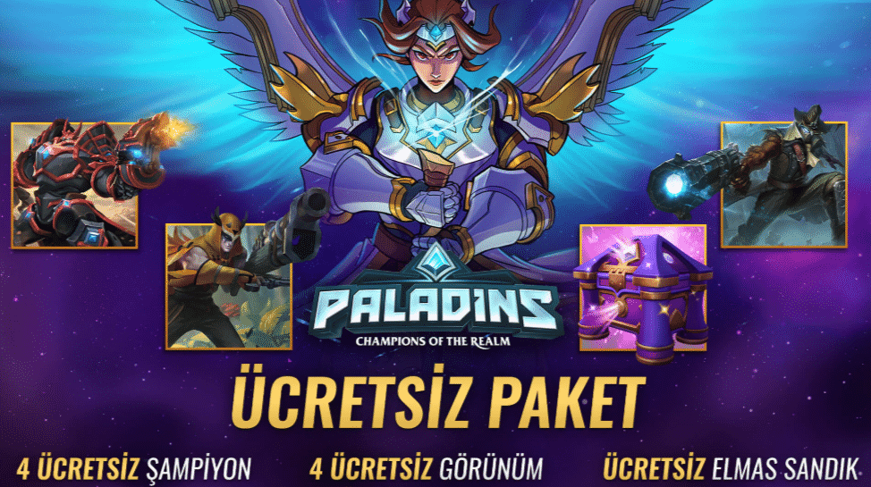 Palandis Epic Ücretsiz Paket